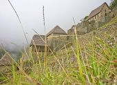 Houses Of Macchu Picchu