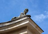 Sphinx Sculpture Of A Woman Against The Sky
