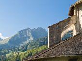Old Church Buttress On The Sun