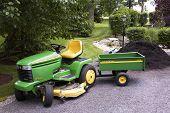 John Deere with Tractor