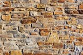Stone wall texture or background.