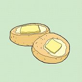 Sliced Buttery Biscuit