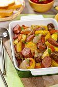 Potato and Sausage Dinner