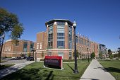COLUMBUS, OHIO-OCTOBER 12, 2014:  The Ohio Union on the campus of The Ohio State University was built in 2010.