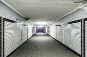Sublevel At Subway Station