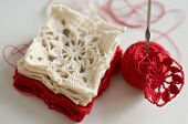 Crocheted Pattern - Grandma's Square