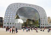 Market Hall In Rotterdam