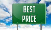 Best Price on Green Highway Signpost.