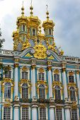 Church Of The Resurrection In Catherine Palace In Tsarskoye Selo (pushkin)