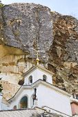 Rock And Saint Uspensky Cave Monastery, Crimea