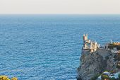 Swallow Nest Castle On Crimean South Coast