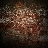 rusty iron mesh