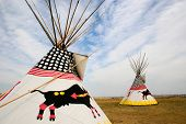 Two Teepees