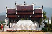 Pagoda in Queen Sirikit Botanical Gardens, Thailand