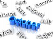 Text October