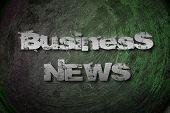 Business News Concept