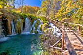 Autumn Colors Of Plitvice Lakes National Park