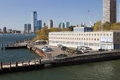 picture of coast guard  - United States coast guard building in New York and Jersey City - JPG