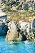 Lavezzi Islands Rocky Coastline