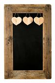 pic of wooden pallet  - Happy Valentine - JPG