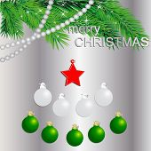 Fir Tree With Red Star