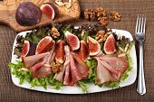 Salad With Prosciutto