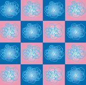 The Pattern Of Squares And Hexagons