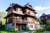 Wooden Residential Building In Zakopane