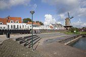Wijk Bij Duurstede Seen From The Harbor