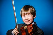 stock photo of violin  - Red - JPG