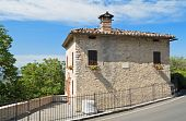 Typical house. Corciano. Umbria.