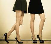 image of black heel  - Female fashion - JPG