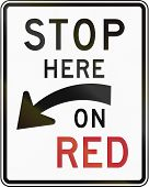 stock photo of traffic sign  - United States traffic sign - JPG