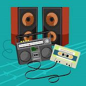 stock photo of bast  - bast set music icon collection the best deal for your design - JPG