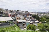 pic of illegal  - Poverty in the favela of Sao Paulo city - JPG