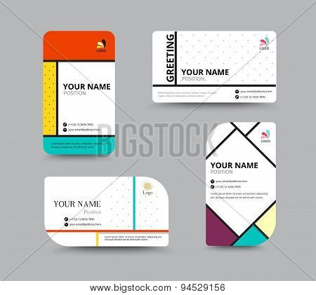 Business card template name card design for business include business card template name card design for business include sample text layout vector accmission