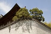 picture of korean  - Traditional Korean style architecture at Hanok Village South Korea - JPG
