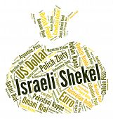 image of shekel  - Israeli Shekel Meaning Foreign Currency And Banknotes - JPG
