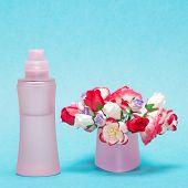 foto of perfume bottles  - Floral perfume - JPG