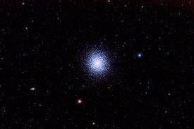 picture of cluster  - M13 The Great Globular Cluster in Hercules - JPG