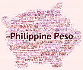 picture of pesos  - Philippine Peso Showing Foreign Currency And Pesos - JPG