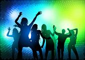 foto of dancing  - Party People Dancing  - JPG