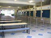 Empty School Canteen