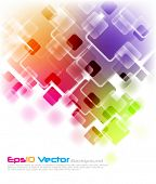 Eps10 fondo multicolor de vector