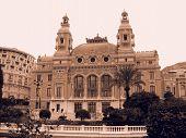 Monte Carlo Casino In Sepia