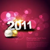 beautiful vector new year and chritsmas illustration