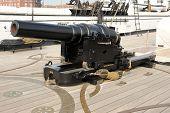 Breech Loading Victorian Cannon