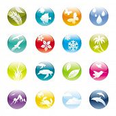 Nature & eco iconset