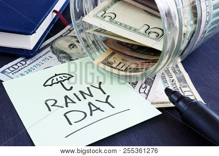 Rainy Day Fund Savings Jar