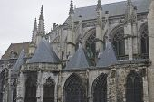 Basilica In Normandy France